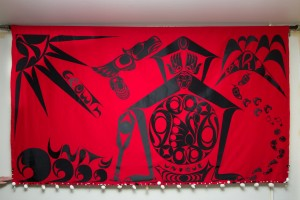First Nations, art, Textile Mural, Cowichan, Charlene George