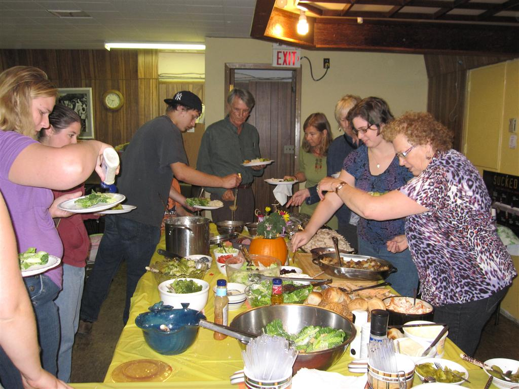 Community Dinner, Cowichan