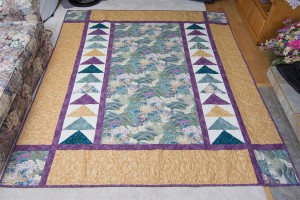 Chemainus, Hand-Crafted, queen size, quilt