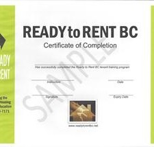 Ready to Rent, BC, Cowichan